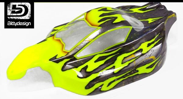 Picture of 'Burn' paintwork
