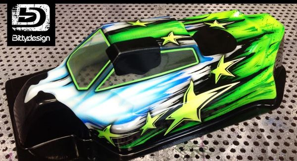 Picture of 'Star' paintwork