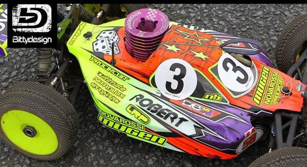Picture of 'Robert Batlle 2013' Replica paintwork