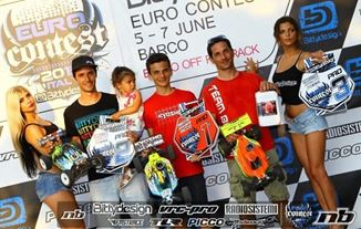 Picture of Berton crowned EURO Contest Champion