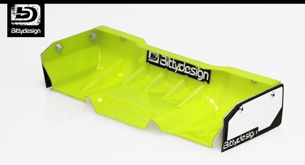 Picture of Zefirus 1/8 Buggy & Truggy lexan wing set (Yellow)