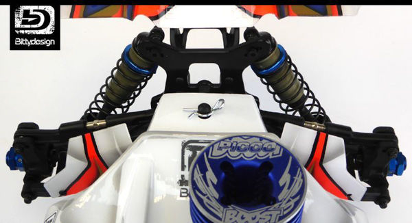 Picture of Clear Mud Guards for Team Associated RC8B3