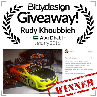 Picture of Bittydesign Giveaway - The Winner of January 2016!!