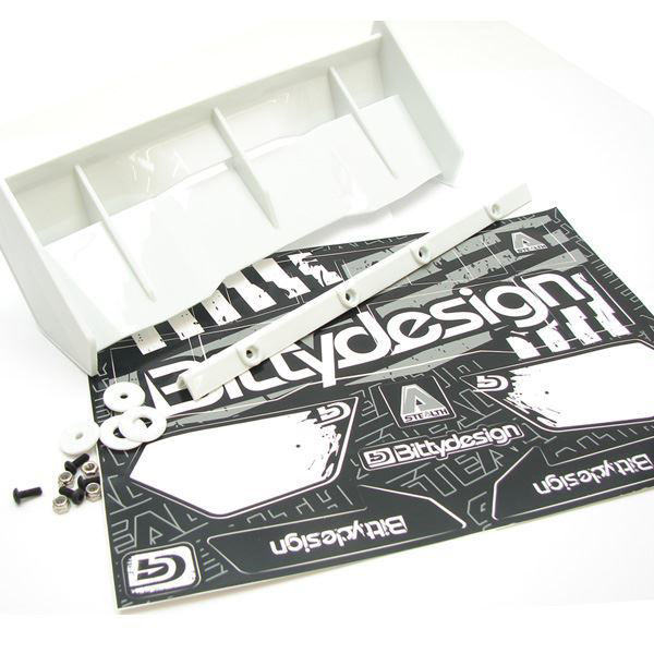 Picture of Stealth 1/8 Buggy & Truggy plastic wing set (White)