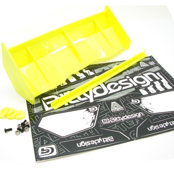 Picture of Stealth 1/8 Buggy & Truggy plastic wing set (Yellow)