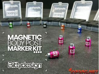 Picture of Perfora con facilidad tus carrocerías con los marcadores magnéticos de Bittydesign. Incluye video
