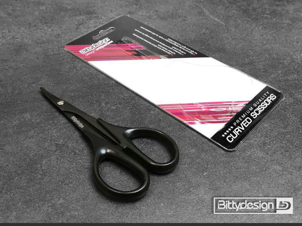 Picture of CURVED Tip Polycarbonate Scissors