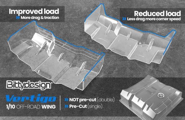 Picture of Vertigo 1/10 Off-road 1.5mm wing Pre-cut