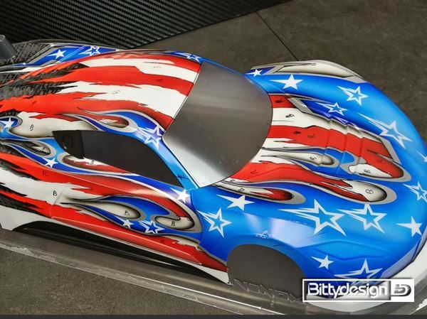 Picture of 'USA'' paintwork