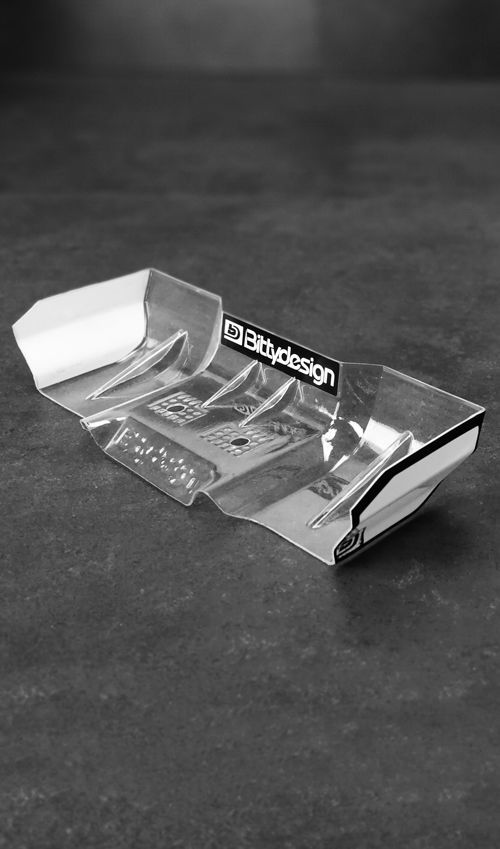Picture of Zefirus 1/8 Buggy & Truggy lexan wing set (Clear)