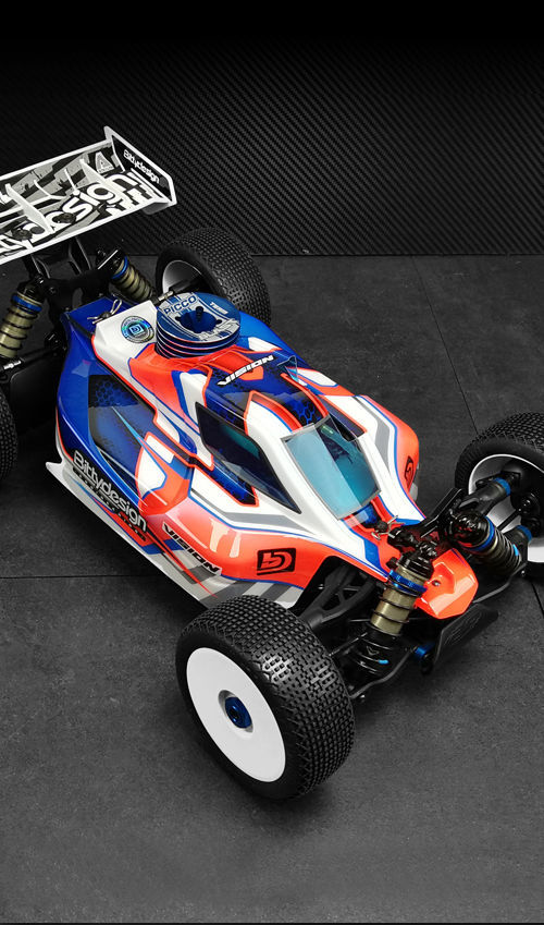 Picture of VISION body for Team AE RC8B3.1 / RC8B3.2 Pre-cut