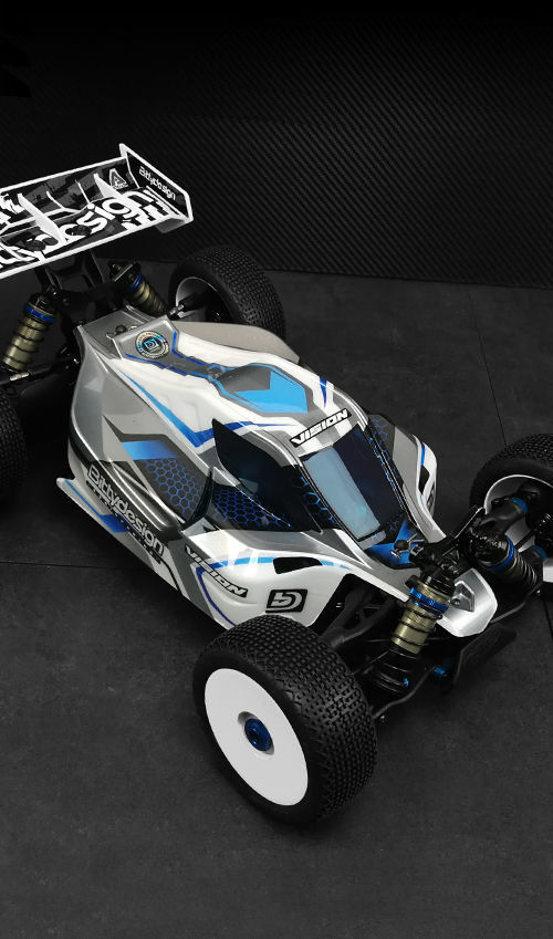 Picture of VISION body for Team AE RC8B3.1e / B3.2e Pre-cut