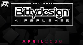 Bittydesign airbrushes – Coming soon