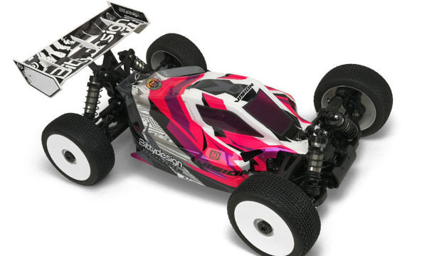 Picture of VISION body for Xray XB8E 2020 Pre-cut