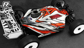 Bittydesign Vision A319 buggy body shell