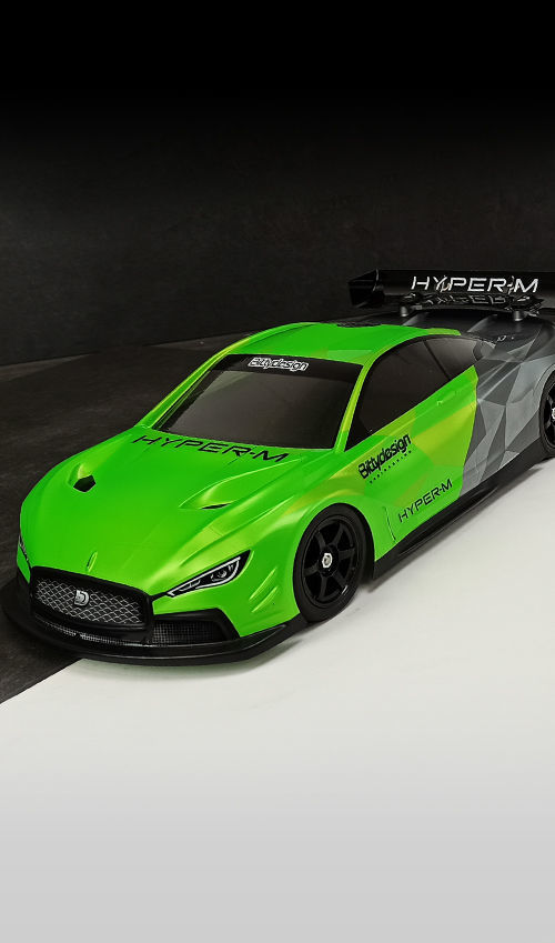 Picture of HYPER-M 1/10 M-chassis body