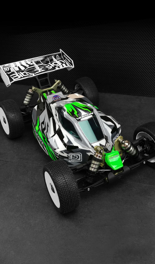 Picture of VISION body for Kyosho MP10E Pre-cut