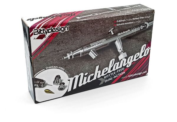 Immagine di Michelangelo Bottle-feed aerografo doppia azione