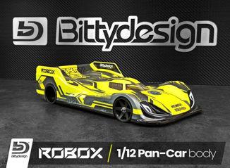 Picture of Bittydesign presenta Robox, su nueva carrocería para 1/12 Pan-Car