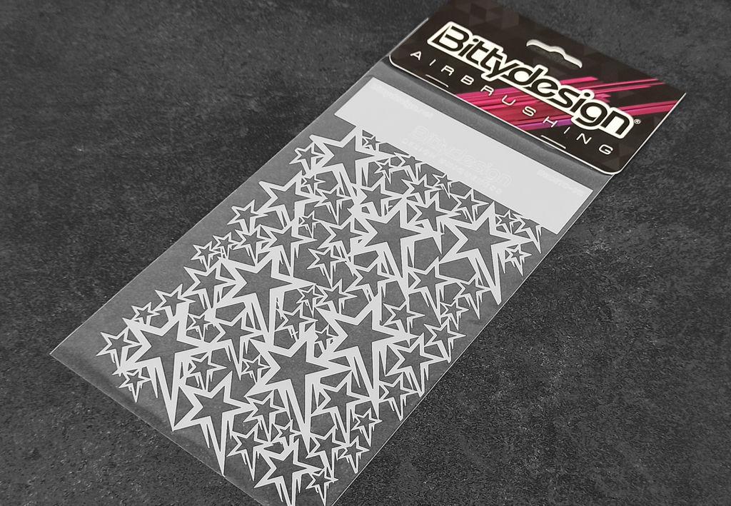Picture of Vinyl stencil 'Stars V1'