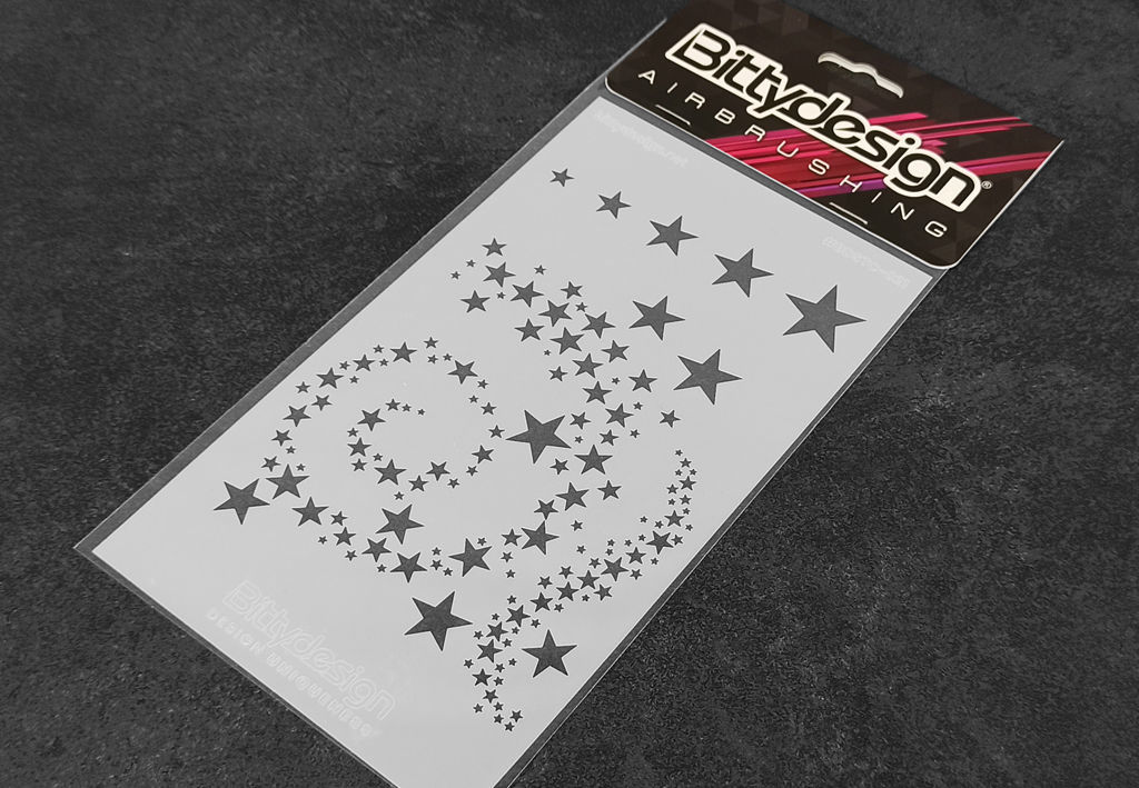 Picture of Vinyl stencil 'Stars V2'