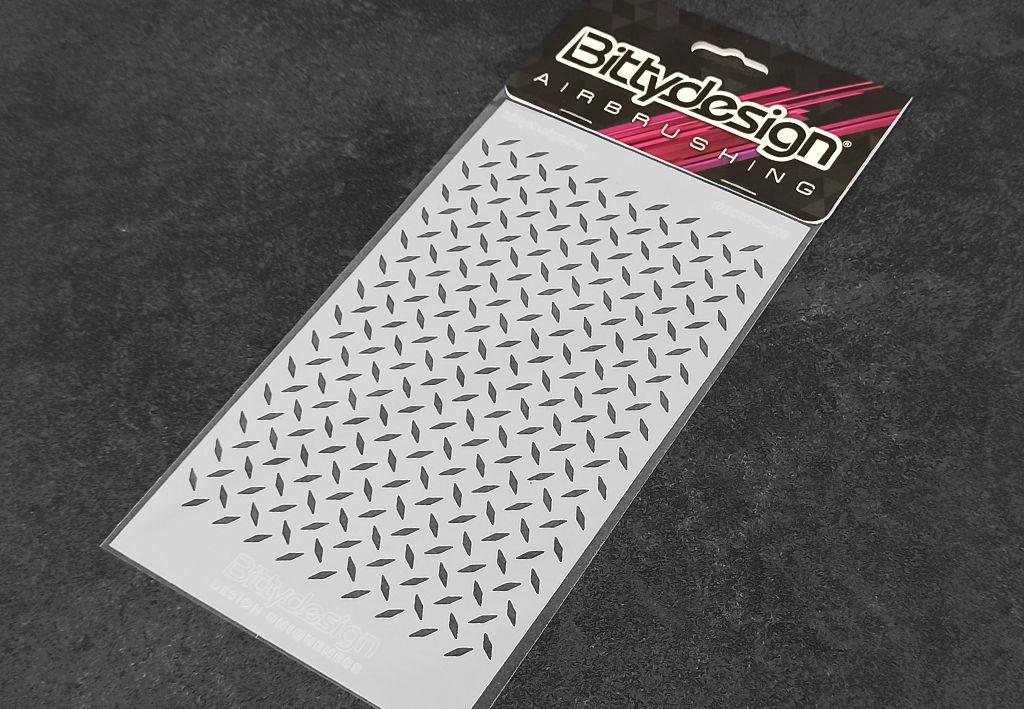 Picture of Vinyl stencil 'Diamond Plate'