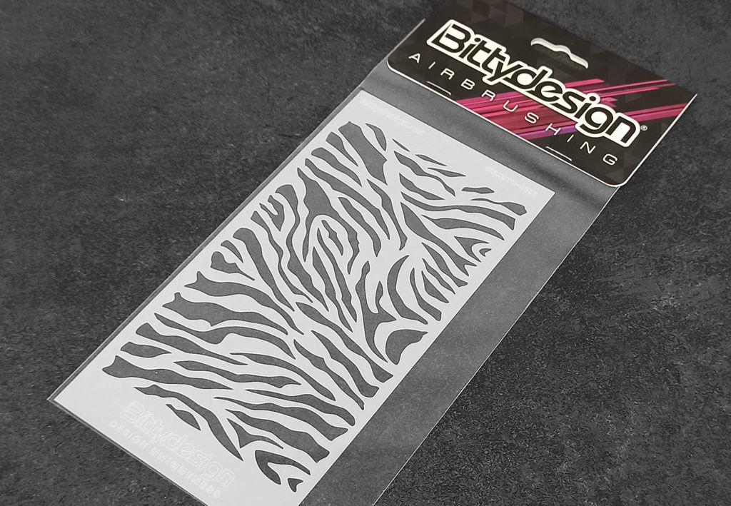 Picture of Vinyl stencil 'Zebra'