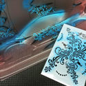Picture of Vinyl stencil 'Floreal'