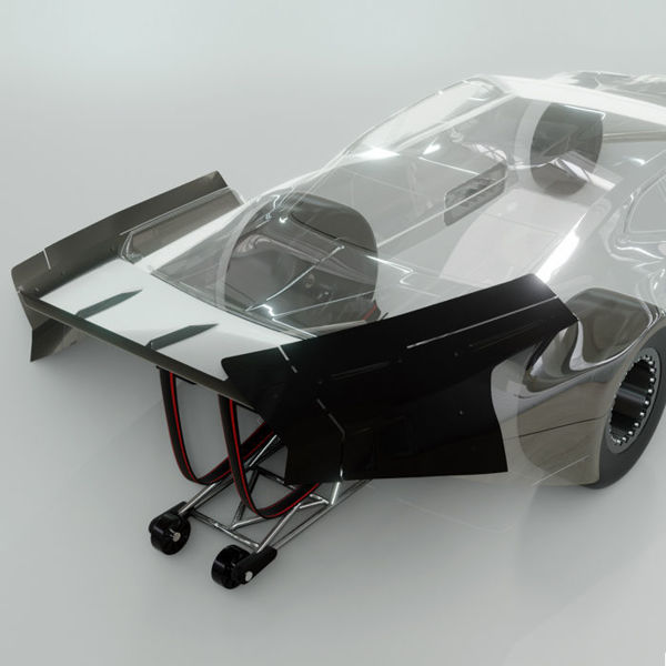 Picture of 1/10 Pro Drag racing clear wing set