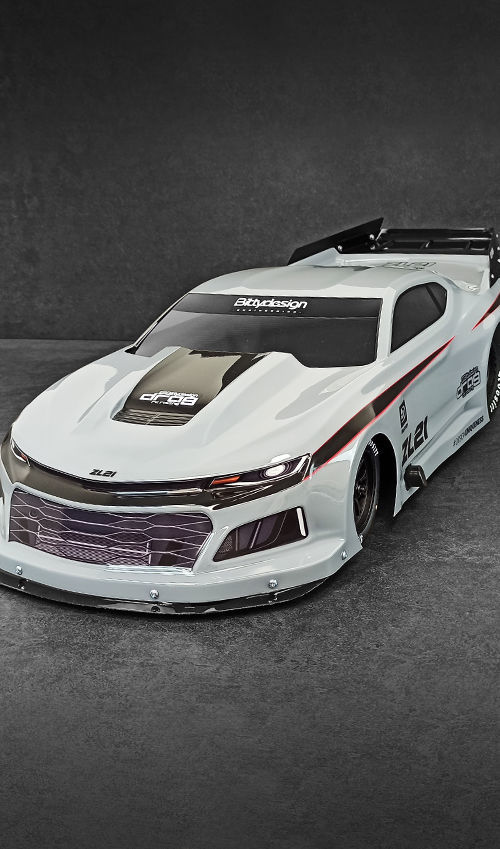 Picture of ZL21 1/10 No Prep Drag racing body