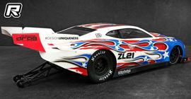 Bittydesign ZL21 1/10 No Prep drag racing body shell