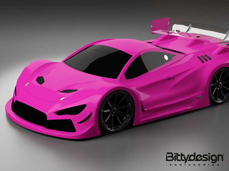 HYPER-GT8 - 3D CAD design and professional rendering